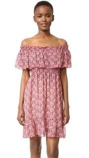 Платье Woodblock Anna Sui