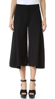 Юбка-брюки из мягкого крепа Victoria Victoria Beckham