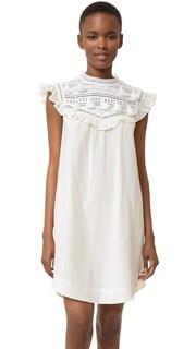 Комбинированное платье с кисточками Sea