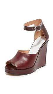 Кожаные сандалии Maison Margiela
