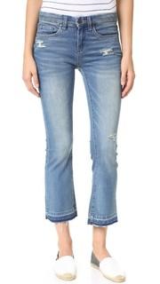 Укороченные джинсы с необработанным низом Blank Denim