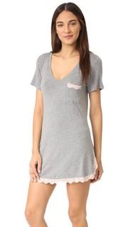 Современная пижамная рубашка Drifter All American Honeydew Intimates