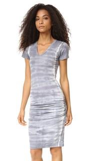 Платье Fishbone с V-образным вырезом Monrow