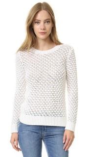 Текстурированный свитер с овальным вырезом Jenni Kayne