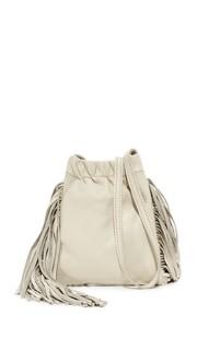 Миниатюрная сумка через плечо Ano с бахромой Monserat De Lucca