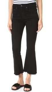 Укороченные расклешенные джинсы Rag & Bone/Jean