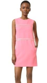 Свободное платье со вставками Victoria Victoria Beckham