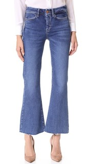 Укороченные расклешенные джинсы Lou M.I.H Jeans