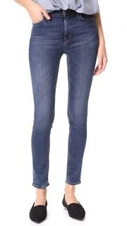 Джинсы-скинни с высокой посадкой Bride M.I.H Jeans