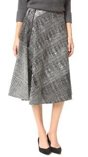 Асимметричная ниспадающая юбка Jason Wu