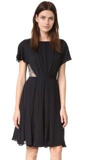 Платье из двойного шелка-жоржета. Jason Wu