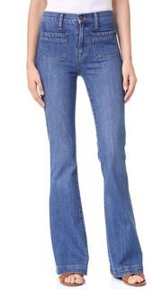 Расклешенные джинсы Flea Market Sailor Edition Madewell