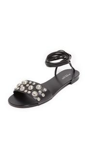 Гладиаторские сандалии Mica на шнуровке Michael Kors Collection