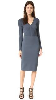 Трикотажное платье с длинными рукавами Narciso Rodriguez