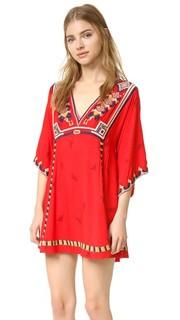 Мини-платье Tulum с вышивкой Free People