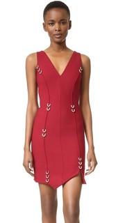 Платье без рукавов Mugler