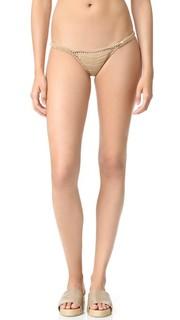 Связанные крючком плавки бикини Savarna Mini с низкой талией She Made Me