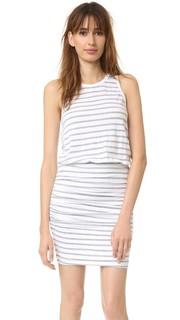 Платье с полосками без рукавов Sundry
