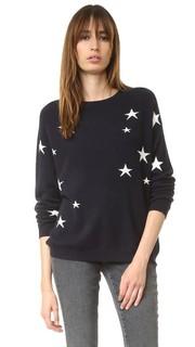 Кашемировый свитер с напуском Star Chinti and Parker
