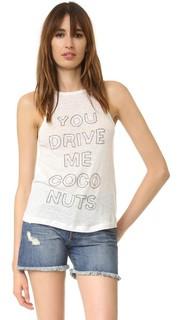 Футболка You Drive Me Coconuts Chloe Oliver