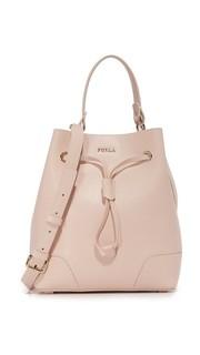 Маленькая сумка-ведро Stacy с завязками Furla