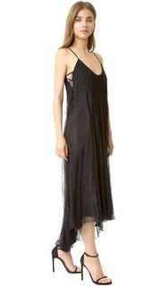 Платье с кружевными вставками Haute Hippie