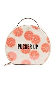 Косметичка Patsie с принтом в виде грейпфрутов Kate Spade New York