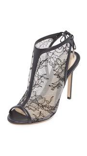 Кружевные сандалии на каблуке Felicity Monique Lhuillier