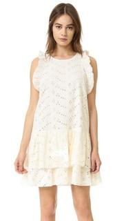 Платье Desiree с кружевным шитьем Sam & Lavi
