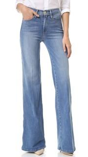 Широкие джинсы Le Capri с окантовкой Frame