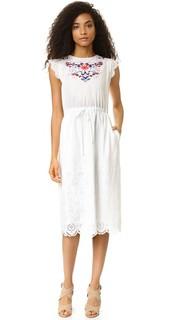 Платье с вышивкой Garden Rebecca Taylor