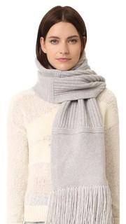 Объемный шарф из мягкой шерсти Edun