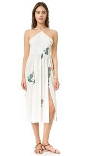 Платье Cactus Flower с завязкой сзади Wildfox