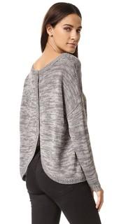 Фактурный свитер Jack by BB Dakota Gilderoy с пуговицами на спине
