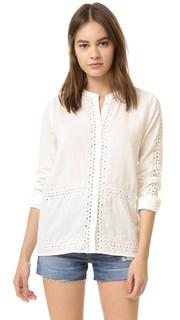 Рубашка на пуговицах с вырезами Scotch & Soda/Maison Scotch