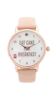 Часы Metro Eat Cake for Breakfest Kate Spade New York