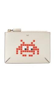 Объемная сумочка Space Invader с карманом Anya Hindmarch