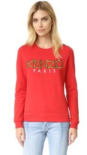 Толстовка с веревочным логотипом Kenzo