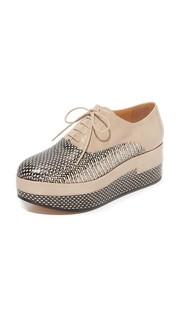 Кожаные ботинки на шнурках Maison Margiela