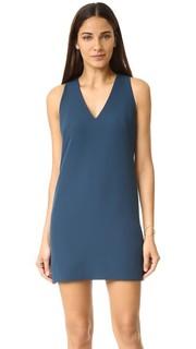 Современное свободное платье с V-образным вырезом Milly