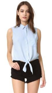 Рубашка на пуговицах без рукавов Shea Rails