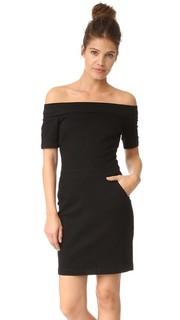 Платье с открытыми плечами 3x1