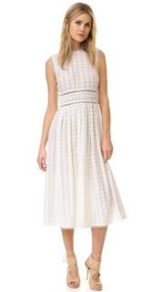 Платье с вышивкой Zephyr Picnic Zimmermann