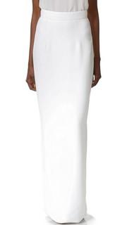 Длинная прямая юбка Monique Lhuillier