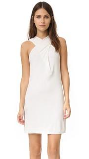 Платье с перекрещенным лифом Rachel Zoe