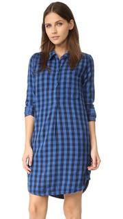 Платье-рубашка с передней застежкой Sundry
