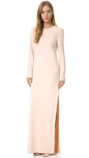 Вечернее платье с длинными рукавами Cedric Charlier