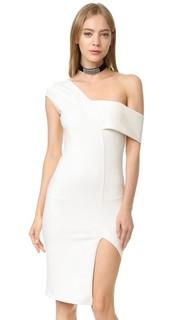Асимметричное платье-халат Michelle Mason
