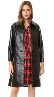 Пальто из проклеенной искусственной кожи Marc Jacobs