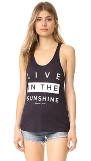 Майка Live in the Sunshine со спиной-борцовкой Spiritual Gangster